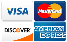 Credit Cards accepts